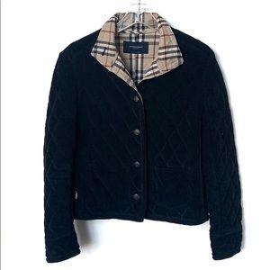 BURBERRY   Black Vintage Tailor Fit Quilted Jacket